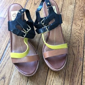 Dolce vita wedge sandals